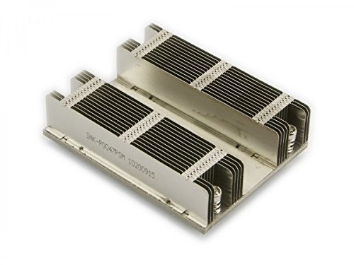Supermicro CPU SNK-P0047PSM 1U Passive Front Heatsink Middle Air Channel X9/X10 Brown Box