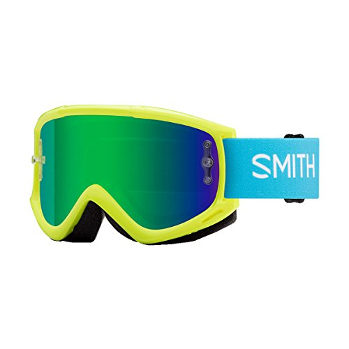 Smith Optics Fuel V1 Adult Off-Road Goggles - Acid/Green Mirror/One Size by Smith Optics
