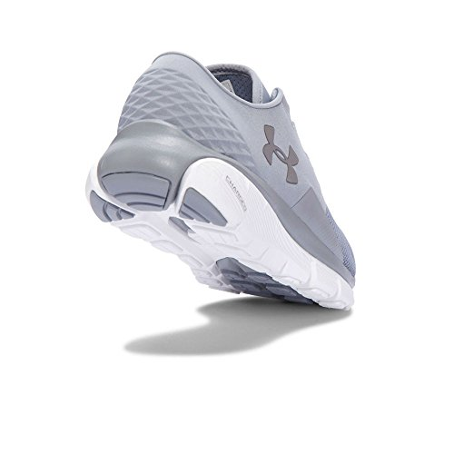 Under Armour Men's UA Speedform Fortis 2 Running Shoes Steel / White / Metallic Silver cheap sale perfect outlet locations cheap online buy cheap release dates clearance good selling explore for sale WPTgoo