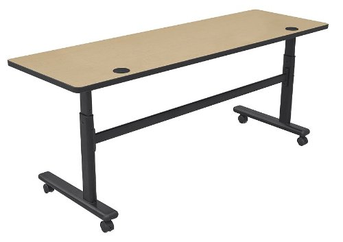 Height Adjustable Flipper Training Table Size: 72