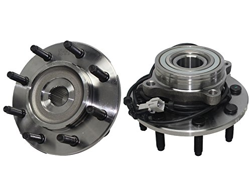 Brand New (Both) Front Wheel Hub And Bearing Assembly Dodge Ram 2500, 3500 4x4 8 Lug W/ ABS (Pair) 515063 x2