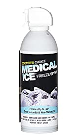 Doctor's Choice Medical Ice Freeze Spray for Skin Tags, Warts, and Moles