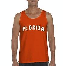 Artix Florida Distress FL Home of Miami Men's Tank Top