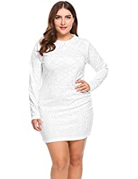 Amazon.com: Plus Size - Club & Night Out / Dresses: Clothing ...