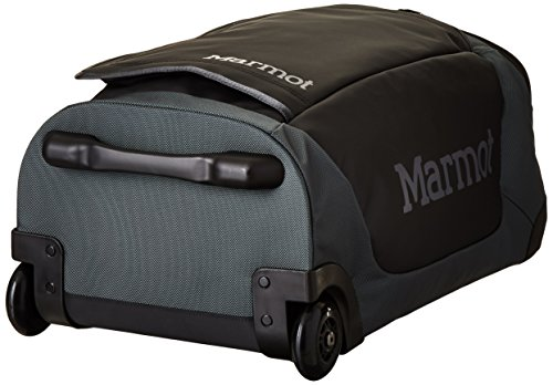 Marmot Handgepäckkoffer Rolling Hauler Carry On, Slate Grey/Black, 56 x 26 x 32 cm, 40 Liter, 24270-1444