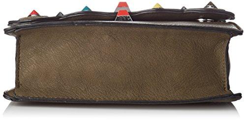 SwankySwans Mini Rita Khaki Bag Satchel Bag Green Cross Body Womens 44PwqA6