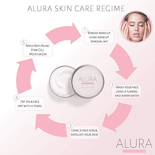 418jx0GbpyL - ALURA Natural Anti-Aging Hyaluronic Acid Moisturizer | 2.0 Fl Oz Stem Cell Face Cream | Vegan Skin Care In Aluminum Packaging | Animal Cruelty-Free | No Parabens or Sulphates | Made In The U.K.