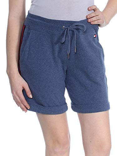 Tommy Hilfiger Womens New 1815 Blue Striped Rolled Hem Short XS B+B