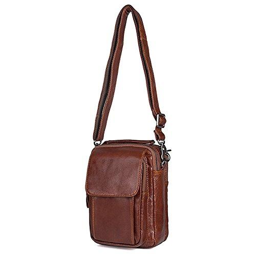 Shoulder Messenger Bag Kinokoo Casual Genuine Leather For Men qUEwAEg