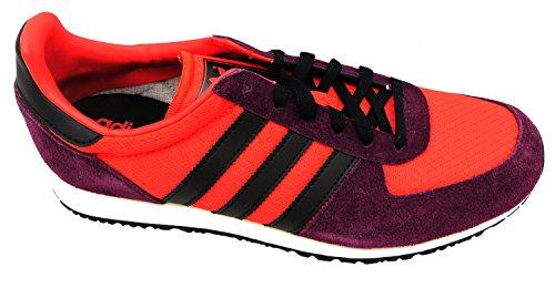 adidas Originals - Zapatillas para hombre hirere/black/whtvap, color rojo, talla 40