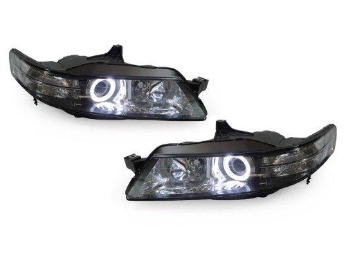 ACURA TL DS BiXenon HID CLEAR CORNER HEADLIGHTS LED ANGEL - 2004 acura tl headlight bulb