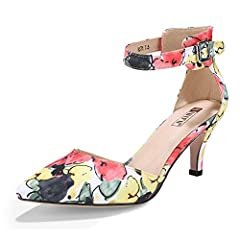 Every woman wants to have one pair of shoes which is unique and attractive. How about you? If so, this pair will be a good choice for you. The trendy sandals are designed durable, anti-slip, high-heeled and buckled. It's made pointed toe whic...