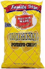 Better Made original potato chips, 11-oz. family size bag
