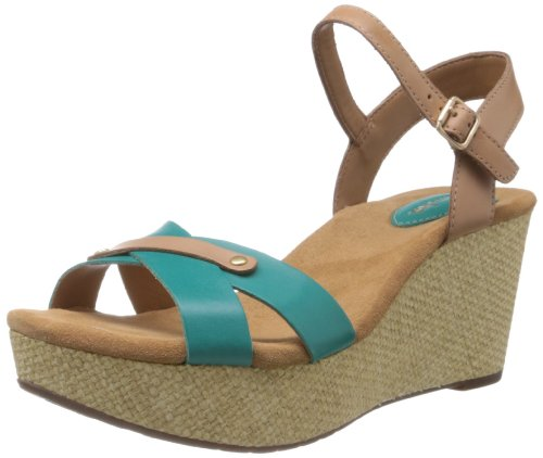 Clarks Lea Turquoise Espadrilles Jonak Femme turquoise pwUxprHq