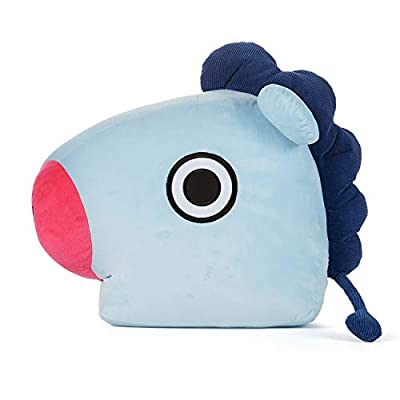 BT21 Official Merchandise by Line Friends - MANG Decorative Throw Pillows Cushion, 16.5 Inch: Home & Kitchen