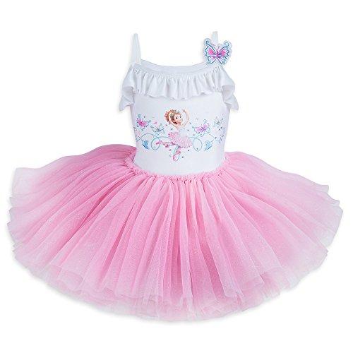 (Disney Fancy Nancy Deluxe Leotard Dress for Girls Size 3 Multi)