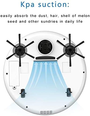 LAYX Robot De Balayage Intelligent, USB De Charge De 360 Degrés Direction Automatique Machine De L\'animal De Compagnie Cheveux Aspirateur Robot, Sol Dur, Moquette