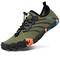 JOINFREE Mens Womens Water Sports Shoes Quick Dry Beach Swim Surf Diving Shoes for Boating Fishing Kayaking Trekking