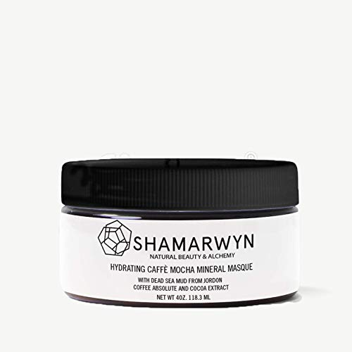 Hydrating Caffè Mocha Mineral Masque with Dead Sea Mud, Coffee Absolute & Cocoa Extract 4oz by Shamarwyn: Natural Beauty & Alchemy