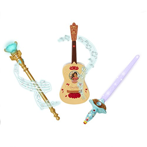 Princess Sword - Elena Of Avalor Triple Power Pack (Guitar, Sword, Scepter) Toy [Amazon Exclusive]