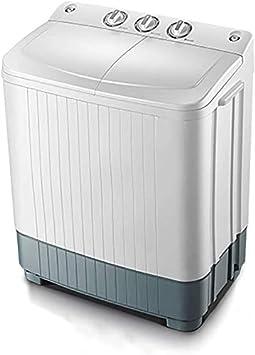 La máquina portable doble lavado barril secado secadoras de ropa drenaje por gravedad,6 kg