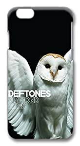 iPhone 6 Plus Cases, Deftones Diamond Eyes Owl Protective Snap-on Hard Case Back Cover Protector Slim Rugged Shell Case For iPhone 6 Plus (5.5 inch) hjbrhga1544