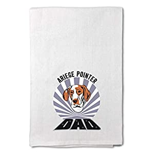 Style In Print Custom Decor Flour Kitchen Towels Dad Ariege Pointer Dog Pets Dogs Cleaning Supplies Dish Towels Design Only 7