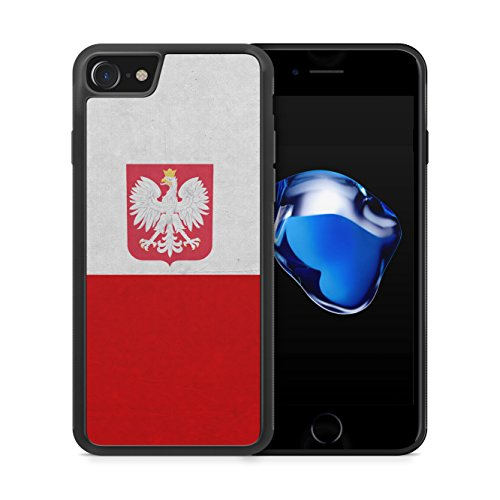 Polen Polska Poland Flagge iPhone 7 Plus SILIKON TPU Hülle Cover Case Schale