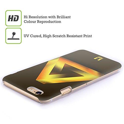 Head Case Designs Oro Triangolo Di Penrose Cover Retro Rigida per Apple iPhone 7 Plus / 8 Plus