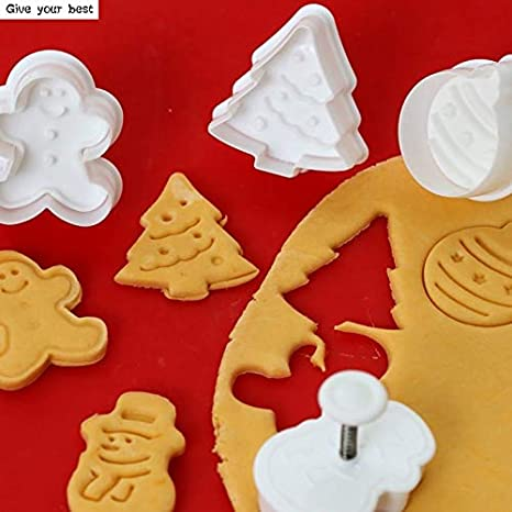 DIY Pastry Kitchen Fondant Cake Mold Mould Biscuit Cookie Cutter Christmas Tree