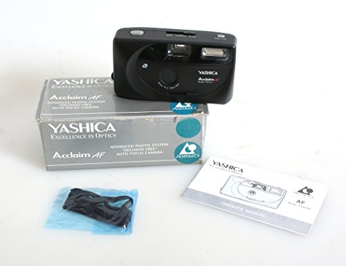 YASHICA ACCLAIM AF AUTO FOCUS CAMERA 24MM AP5 NEW IN BOX WITH MANUAL