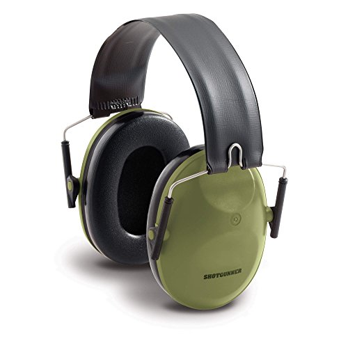 3M Peltor Shotgunner Folding Hearing Protector, Green by 3M