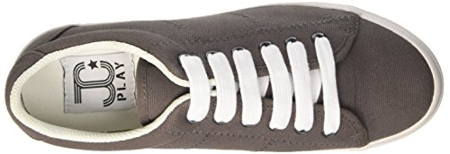 Jeffrey ZOMG da Wash Scarpe Grigio Canvas Donna Campbell Cheerleader HqHT6wB