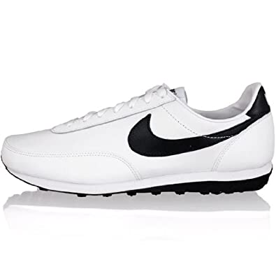 new style 1de7e 257bf Nike Elite Chaussure De Sport En Cuir Baskets Sneakers Pour Homme  Blanc-Noir 46  Amazon.co.uk  Welcome