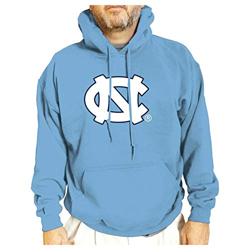 Elite Fan Shop UNC Tar Heels Hooded Sweatshirt Blue Icon - XL
