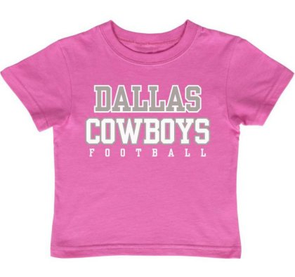 Pink Dallas Cowboys Jersey (Dallas Cowboys Infant Pink Practice T-Shirt)