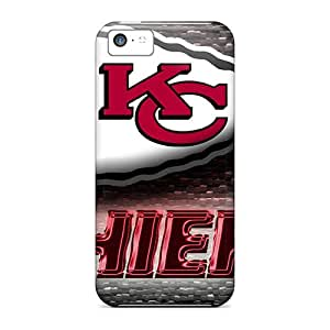 CSmith Design High Quality Kansas City Chiefs Cover Case With Excellent Style For Iphone 5c