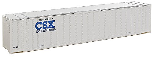 Walthers, Inc. Assembled CSX Intermodal Ribbed Side Container, 48', (Walthers Scenery)