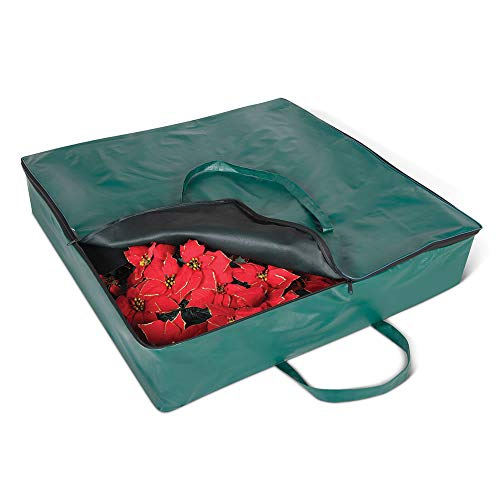 """Hammacher Schlemmer Storage Bag for 6' Pop-up Tree or 33"""" Wreath"""