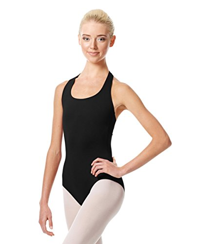 Dance Leotard Halter (Calla Dancewear Womens Tamara Halter Dance Leotard S Black)