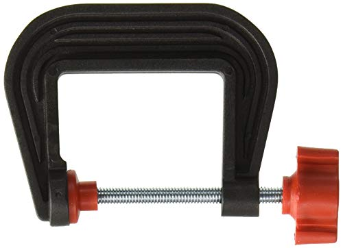 Olson Saw 37-220 Large Plastic C-Clamp, 1-1/2-Inch Maximum Opening