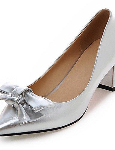 GGX/ Damen / Mädchen-Hochzeitsschuhe-Absätze / Neuheit / Spitzschuh-High Heels-Hochzeit / Kleid / Party & Festivität-Schwarz / Rosa / Rot / 2in-2 3/4in-silver