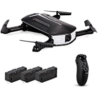 Sympath JJR/C H37 BABY ELFIE RC Quadcopter Headless Mode 4CH Drone Selfie Toys 3 Battery