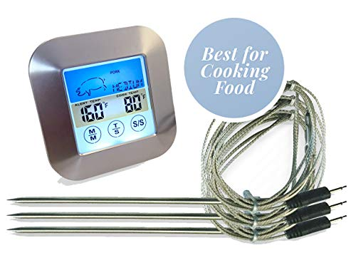 Thermometer Waterproof Stainless Temperature Grilling