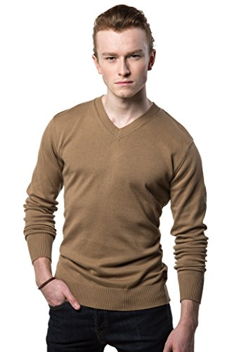 Gallery Seven V Neck Sweater For Men - Cotton Lightweight Mens Pullover by Gallery Seven (Image #7)