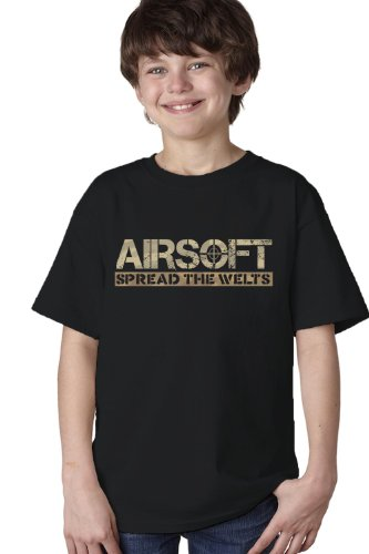 Price comparison product image AIRSOFT: SPREAD THE WELTS Youth Unisex T-shirt / Funny Paintball, Airsoft Gun Tee