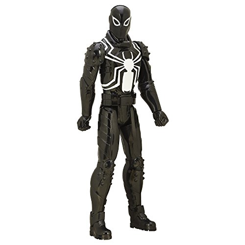 Ultimate Spider-Man vs. the Sinister 6 Titan Hero Series Agent Venom Action Figure 12 Inches