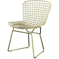 ACME Rasia Gold Side Chair Set of 2