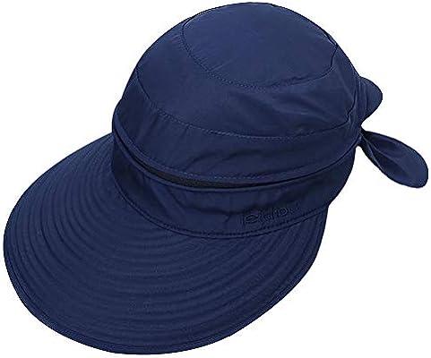 para deportes al aire libre Sombrero de sol para mujer paja ala grande visera grande LA HAUTE