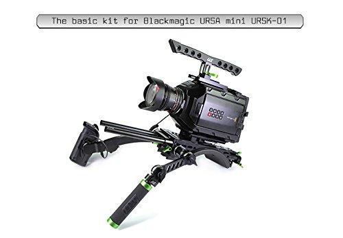 Lanparte URSK-01 Starter Kit, Versatile URSA Mini Basic Shoulder, Black, Green